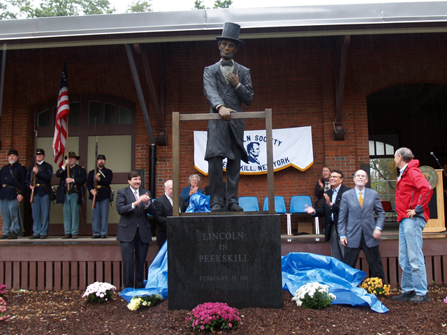 Lincoln Statue Unveiling