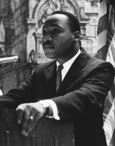 Dr. Martin Luther King in New York for the Centennial Commemoration of the Emancipation Proclamation September 12, 1962