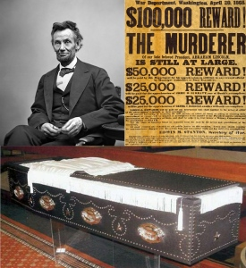 Lincoln Casket Event Graphic