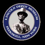 Lincoln Depot Silver Pin